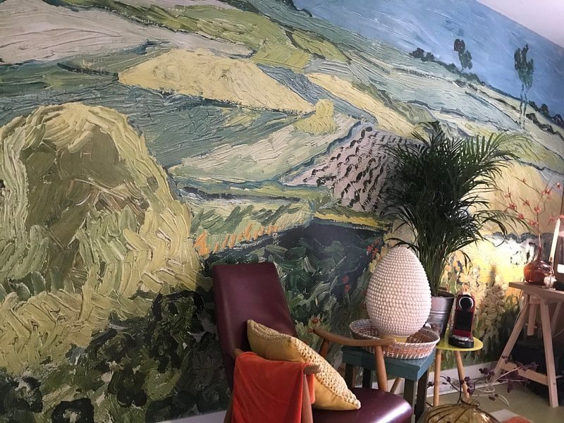 Klantfoto: De vlakte van Auvers, Vincent van Gogh