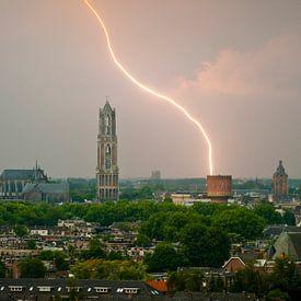 Bliksemschicht boven Utrecht. van Ramon Mosterd