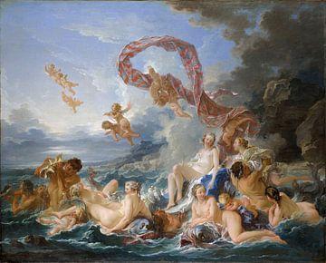 François Boucher - The Triumph of Venus van