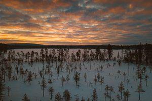 Finland sunset