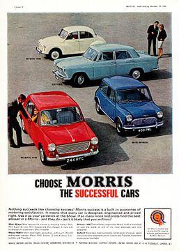Morris Range, Mini Minor & Oxford Werbung 1965 von Atelier Liesjes