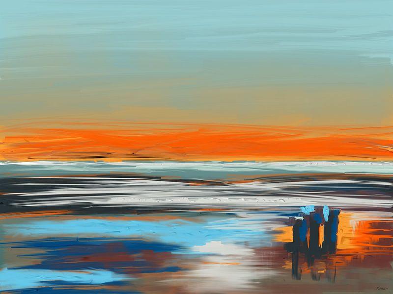 De Noordzee Sound. van SydWyn Art
