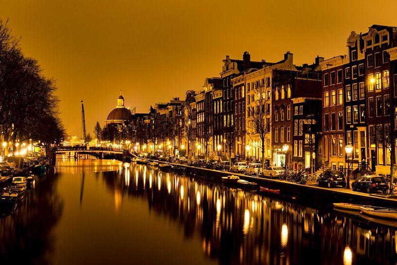 Singel Amsterdam van Ton de Koning