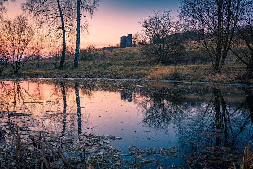 Schloss Arnstein in het Harzgebergte van Martin Wasilewski