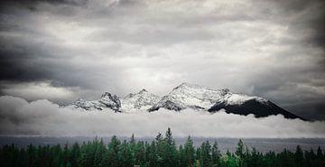 Rocky Mountains Kanada von Bas Wolfs