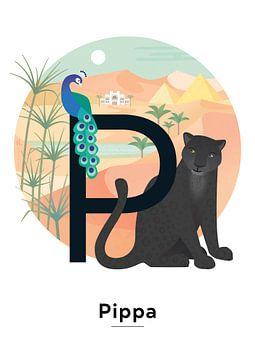 Pippa-Namensplakat von Hannahland .