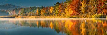 Herbst am großen Ostersee von Denis Feiner