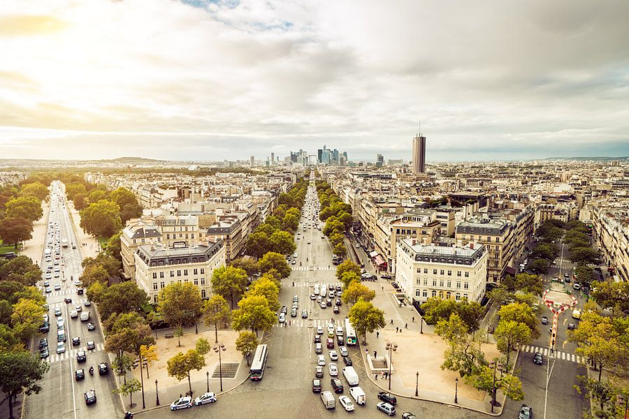Paris Panorama  van davis davis