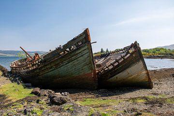 Oude sloepen, Schotland von Erik Snoey