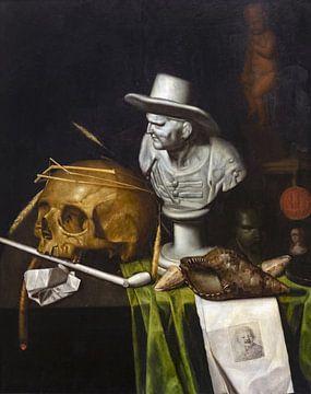 Eitelkeit mit Büste, Johann de Cordua