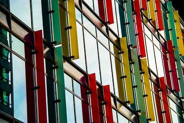 Moderne architectuur Zuidas Amsterdam sur Xandra Ribbers
