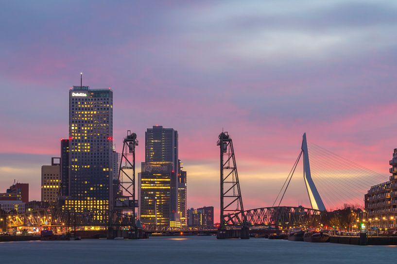 Lichtjes in Rotterdam  van Jan Koppelaar