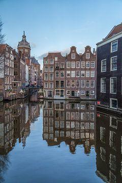 Oudezijds Voorburgwal en Zeedijk in Amsterdam - 5 von Tux Photography