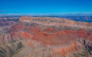 spectaculair uitzicht over de Grand Canyon,  Amerika