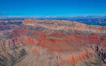 spectaculair uitzicht over de Grand Canyon,  Amerika van Rietje Bulthuis