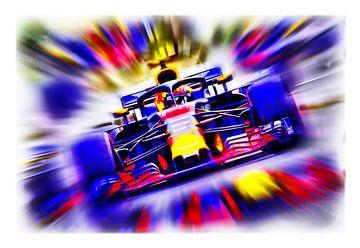 33 - Max Verstappen 2018 van Jean-Louis Glineur alias DeVerviers