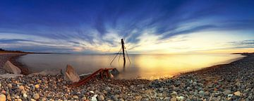 Am Strand der Ostsee von Frank Herrmann