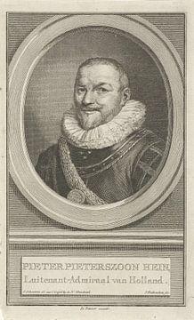Piet Pieterszoon Hein auf Pergament