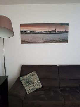 Kundenfoto: Panorama Nimwegen von Mario Visser