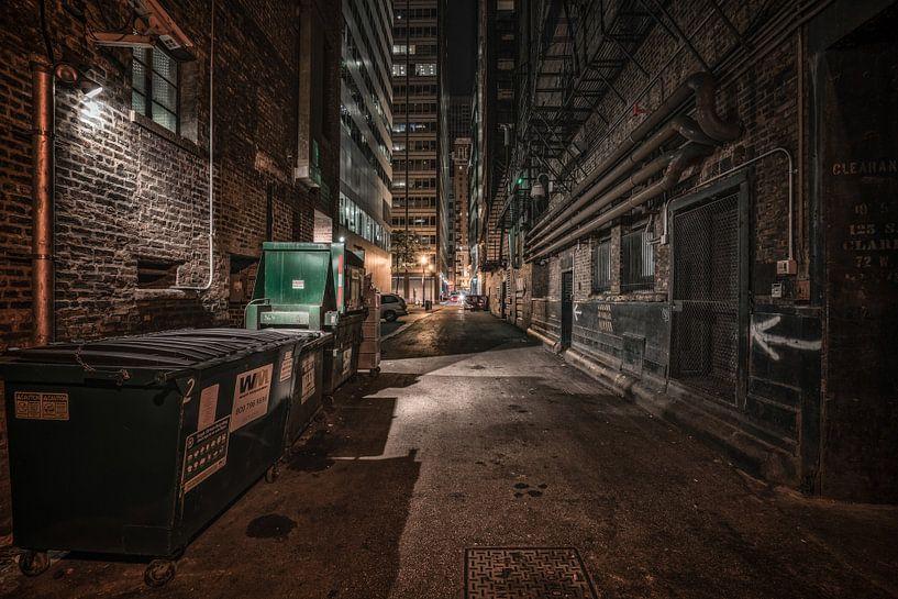 ruelle de Chicago sur Photo Wall Decoration
