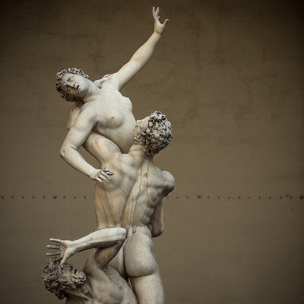 The Rape of the Sabine Women.