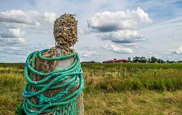 Statuen Schokland von nol ploegmakers