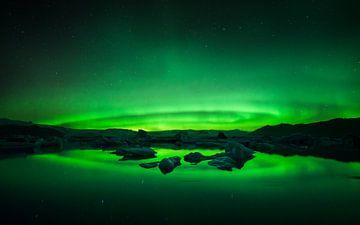 Glacier Lagoon Aurora von Martijn Kort