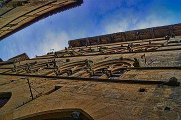 Huis van de Grand Veneur, cordes sur ciel van Atelier Liesjes