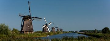 Molens van Kinderdijk panorama van