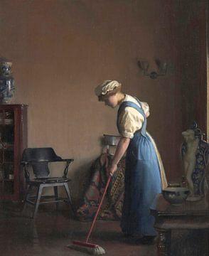 Mädchenfeger, William McGregor Paxton