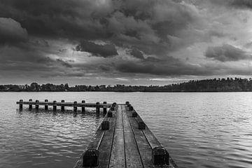Steiger in het meer