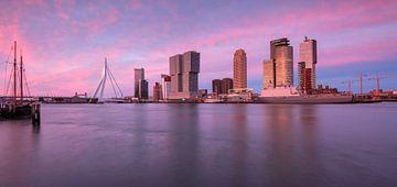 Panorama cruiseterminal Rotterdam von Ilya Korzelius