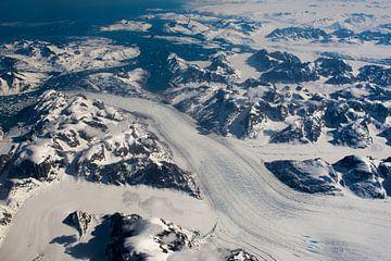 Gletsjers Groenland van Jeroen Vande Voorde