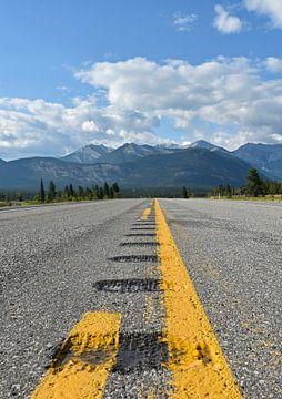Der holprige Weg in die Rocky Mountains von Jutta Klassen