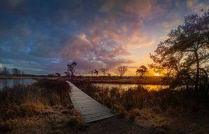 groot malpieven zonsopkomst van Rob Bout