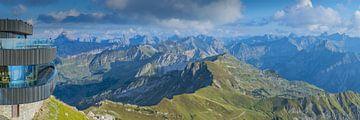 Panorama vom Nebelhorn von Walter G. Allgöwer