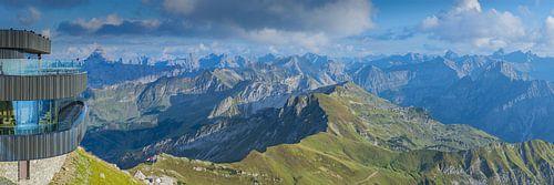 Panorama vom Nebelhorn von