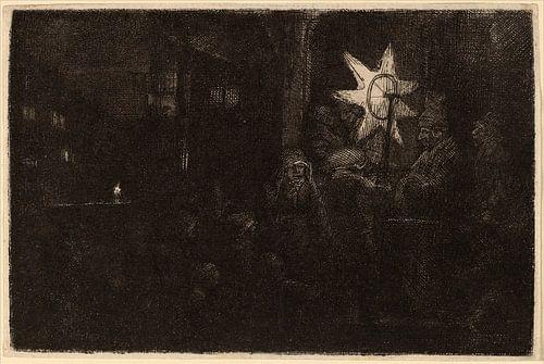 Rembrandt van Rijn der Stern der Könige von Rembrandt van Rijn