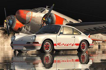 Porsche 911 Carrera RS 1973 WEISS von Jan Keteleer