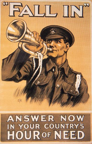 WWI Propaganda-Plakat von Brian Morgan