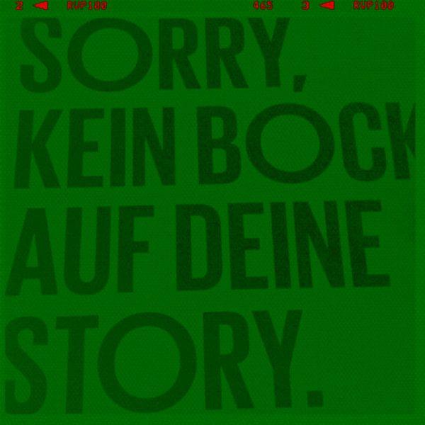 Typografie Pop Art PUR 1 van Felix von Altersheim