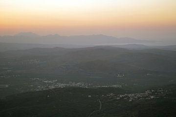Sonnenuntergang Lassithi Plateau von Astrid Tomeij