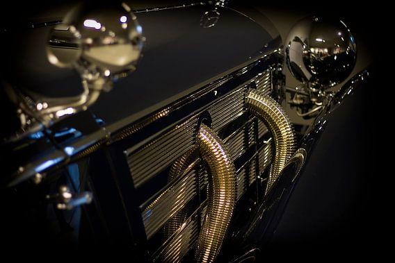 Mercedes-Benz 500K Spezial Roadster 1936 van Eus Driessen