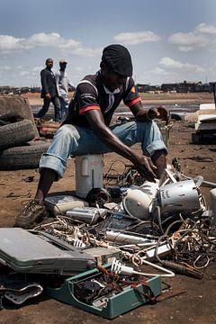 E-Müll in Ghana von Domeine