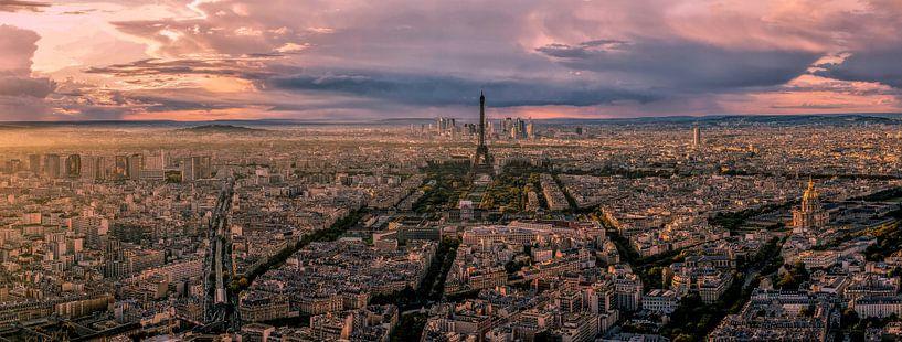 Panorama Parijs van Joris Pannemans - Loris Photography