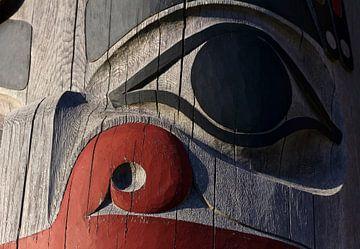 Totempfahl der kanadischen Ureinwohner | von Nathan Marcusse