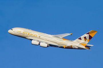 Etihad Airbus A380 van Gert Hilbink