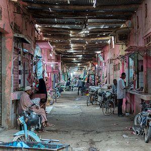 Souk in Errachidia, Marokko van