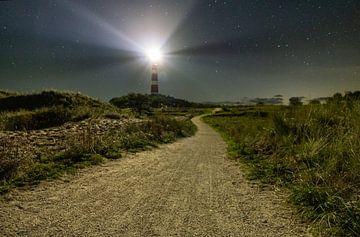 Die Straße zum Leuchtturm von Sebastiaan Duijff