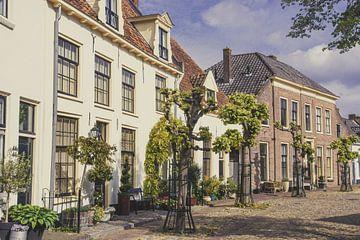 Stadsgezicht Harderwijk van Adri Vollenhouw